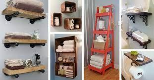 25 best diy bathroom shelf ideas and