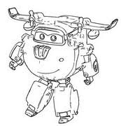Disegni Da Colorare Super Wings Morning Kids