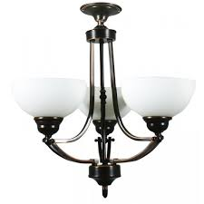 3 arm ceiling lights bronze houston range
