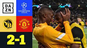 90+5! Bern gewinnt in letzter Sekunde: Young Boys - Man United 2:1 | UEFA  Champions League