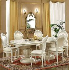italian lacquer dining room furniture. Leonardo Dining Set Ivory Table China Side And Arm Chairs Italian Lacquer Room Furniture G
