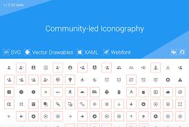 Material Design Iconography Free Material Design Icons Wordpress Plugin