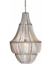 wood bead chandelier fanciful deal alert metal and beads white wash decorating ideas 7