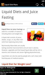 Liquid Diet Chart For Weight Loss Liquid Diet Tips Amazon Co Uk Appstore For Android