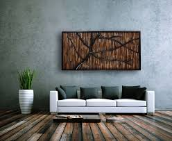custom made reclaimed wood wall art that evokes a wind swept tree 60 on wall art wooden tree with hand crafted reclaimed wood wall art that evokes a wind swept tree