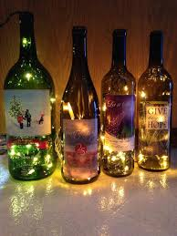 Wine Bottle Decorations Handmade How To Make A Lighted Wine Bottle Snapguide 34