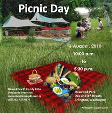 Picnic Flyers Picnic Flyer Template Graphics And Templates