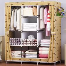 clothes storage cabinet. Contemporary Cabinet Waterproof Oxford Cloth Multipurpose Clothing Storage Cabinet Wardrobe DIY  Assembly Reinforced Folding Closet Intended Clothes T