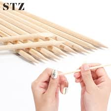 Types Of Nail Designs Us 1 17 19 Off Stz 3 Types Nail Art Orange Wood Stick Pusher Remover Picker Cuticle Nail Designs Manicure Pedicure Care Tools Accessories 709 In