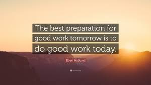 Good Work Quotes