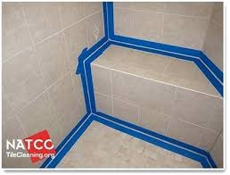 cleaning tile shower taping off the shower prior to caulking it is the key to getting cleaning tile shower