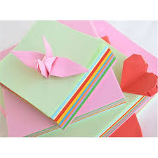 Origami Paper 50 Sheets Double Sided Coloured Craft <b>Square</b> ...