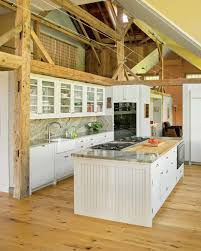 Barn Kitchen Spacious Kitchen In A Converted Barn Old House Restoration