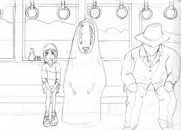spirited away coloring pages. Perfect Coloring Free Coloring Pages Spirited Away Inside