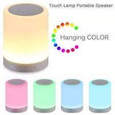 Presyo Ng Touch Lamp Wireless Bluetooth Speaker Smart Led Mood Lamp