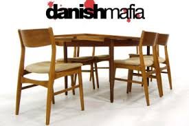 20 mid century modern dining table and chairs danish