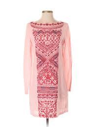 Details About Antik Batik Women Pink Casual Dress S