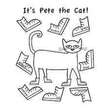 Small Picture Pete The Cat Coloring Pages Printable Coloring Pages Ideas