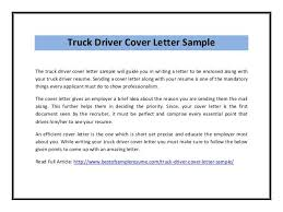 Bunch Ideas Of Cover Letter Examples For Driver Job Nice Dump Truck