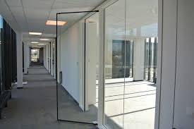 lunax contraflam frameless glass fire door