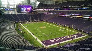 U S Bank Stadium Section 225 Minnesota Vikings