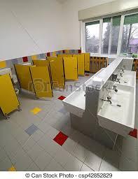 preschool bathroom. Unique Preschool Bathroom For Children In The Preschool Without People  Csp42852829 On Preschool Bathroom P