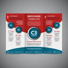 Free Downloadable Templates For Brochures Tri Fold Trifold Brochure