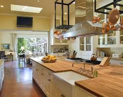 rosewood butcher block kitchen