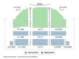 Wang Center Seating Chart Fresh Wang Theater Seating Chart