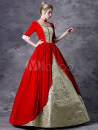 Dhgate.com provide a large selection of promotional casual victorian dresses on sale at cheap price and excellent crafts. Victorian Dress Costume Women S Red Baroque Masquerade Ball Gowns Half Sleeves Square Neckline Victorian Era Clothing Retro Costumes Milanoo Com