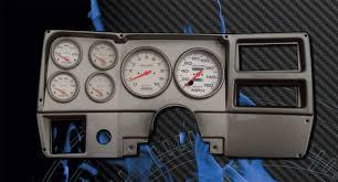 chevrolet truck 1984 87 fast lane west dash panels gauge brushed aluminum panels