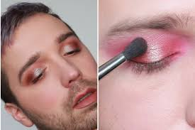 how to make powder eye shadow look more pigmented mix it with cream allure