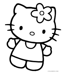 Printable Coloring Pages For Kids Free Printable Hello Kitty