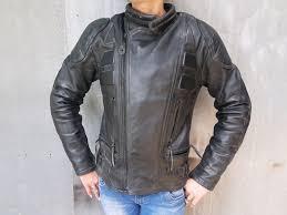 charlie london ladys leather motorbike jacket