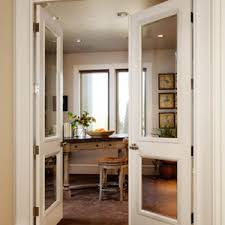 office doors with windows. Pair Of TS2020 Doors In MDF With Bevel Glass, Senior Raised (E) Panel Office Windows L