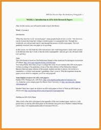 Mla Style Research Paper Format Fresh How To Write A