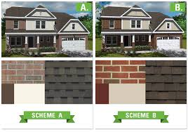 Small Picture Nice Exterior Color Schemes For Brick Homes Part 2 Colors