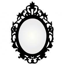 mirror frame outline. Mirror Frame Diy Oval Outline N