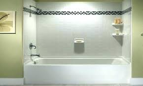 replace tub surround installing fascinating bathtub tile pictures saw this walls a install and wall bathroom with beadboard