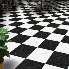 black and white linoleum roll vinyl tiles tile squares armstrong sheet flooring home decor dark kitchen