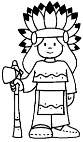Small Picture Coloring Pages Little Chief Girl Print Coloring Pages