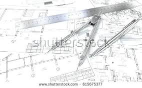 architectural buildings sketches. Architecture Building Plan Plans Generic Architectural Blueprints Drawings And Sketches Ruler Pen Divider Design Buildings
