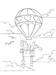 Balloon Coloring Pages Successwithdorothy Co
