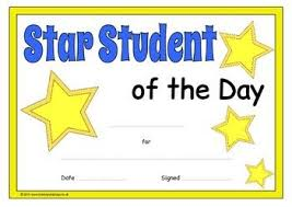 Star Student Certificates Star Student Certificates Star Students Student