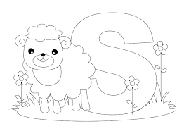 Free Printable Alphabet Coloring Pages A Z Sesame Street Christmas