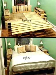 easy diy bed frame bed frame ideas ideas about pallet bed frames on bed frame plans