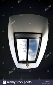 Velux Non Opening Roof Lights Velux Style Opening Skylight In Bedroom Roof Stock Photo