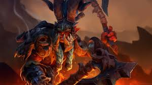 troll warlord wyvern bone battle armor dota 2 wallpapers