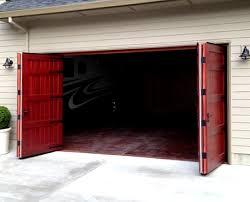 warp free wood bifold doors 16 8 garage door 4 8 hinged carriage