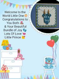 Congratulations On Your Baby Boy New Born Baby Boy Congratulations Card Wishes Cards Baby Baby